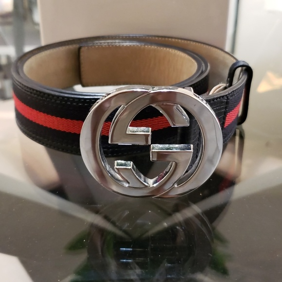 52a29891d8e Gucci Other - Gucci Belt 42 105 Blue and Red 100% Authentic